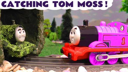 Catching Tom Moss after Pranks with the Funny Funlings and Thomas and Friends plus Transformers Bot Bots in this Family Friendly Full Episode English Toy Story from kid friendly family channel Toy Trains 4U