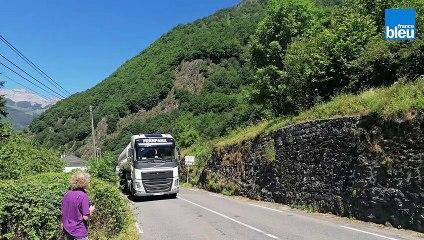 Le passage incessant des camions fait vivre un calvaire aux habitants d'Eygun