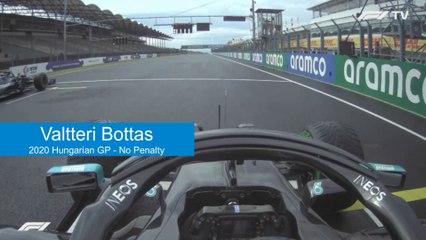 Comparing Jump Starts: Bottas 2020 Hungarian GP vs Vettel 2019 Japanese GP vs Räikkönen 2019 Russian GP