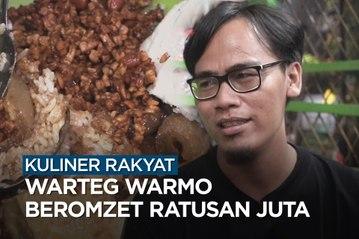 Kuliner Rakyat- Warteg Warmo Beromzet Ratusan Juta - Katadata Indonesia