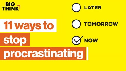 11 ways to stop procrastinating—for good