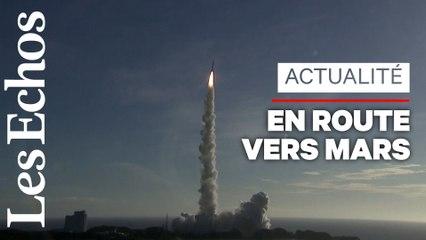 La première mission spatiale arabe vers Mars a décollé au Japon