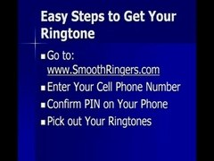 Ringtone flashing