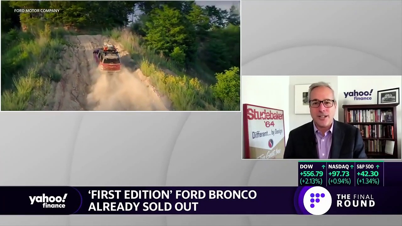 Ford unveils Ford Bronco, 'First Edition' sells out