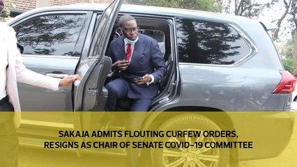 Sakaja admits flouting curfew orders, resigns as chair of Senate Covid-19 committee