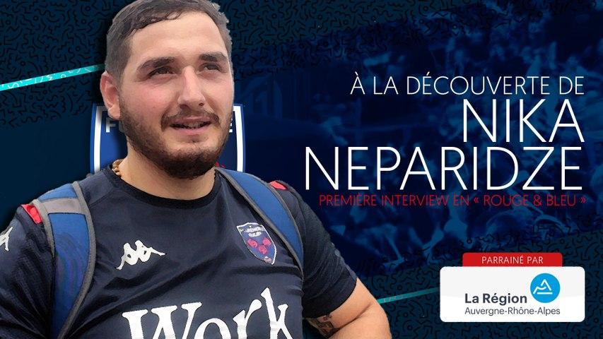 Rugby : Video - Nika Neparidze : « Comme tous les Géorgiens, j'aime la mêlée »