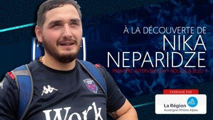 Nika Neparidze : « Comme tous les Géorgiens, j'aime la mêlée »