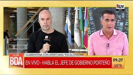 Horacio Rodríguez Larreta: La nueva etapa de cuarentena