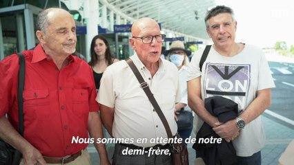 Trois Niçois rencontrent pour la 1re fois leur demi-frère canadien... à 70 ans