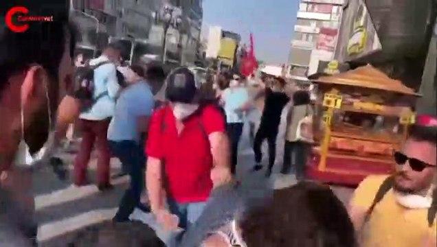 Ankara'da Suruç katliamı anmasına polis müdahale etti