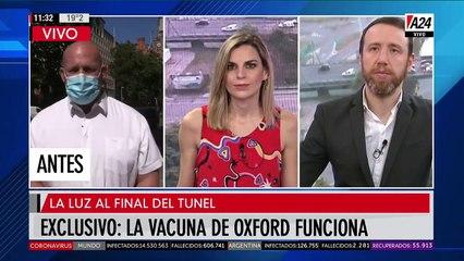 Alerta Mundial: La vacuna de Oxford funciona