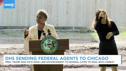 Trump Administration Sending Federal Agents To Chicago