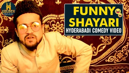 Shayari Comedy | Best Hyderabadi Comedy Video | Abdul Razak | Golden Hyderabadiz