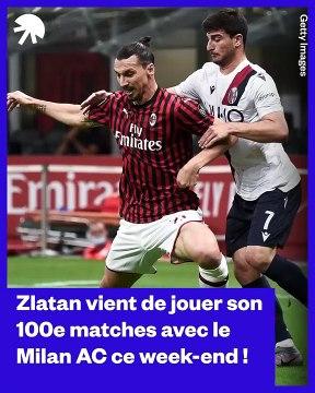 Le discours hilarant de Zlatan Ibrahimovi? pour son 100e match avec le Milan AC   Oh My Goal