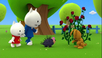 Musti - Thorns and quills - Episode 6 - Cartoon for kids