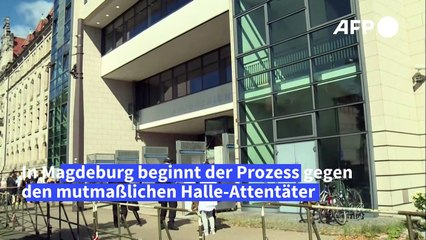 Prozess gegen mutmaßlichen Halle-Attentäter Stephan B. beginnt