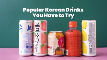 Popular Korean Drinks You Have To Try