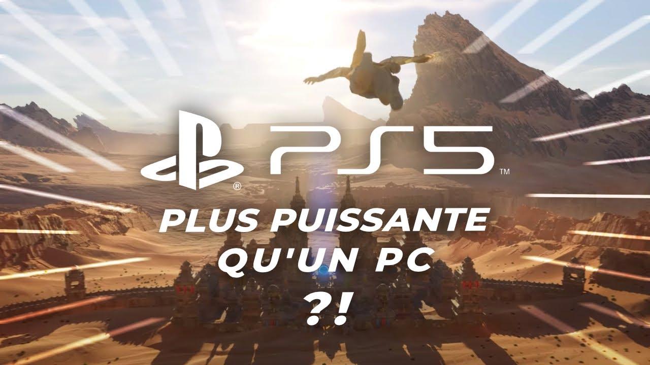 La PS5 vraiment plus PUISSANTE qu'un PC ? On explique tout !