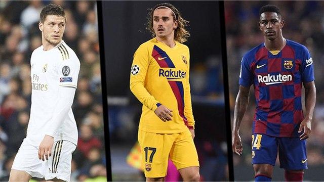 Le onze des recrues flops de la Liga 2019/2020