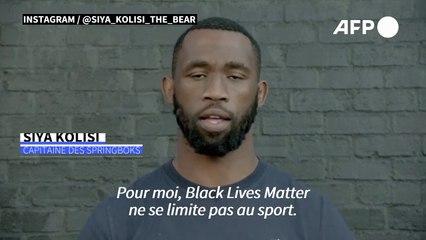 """""""Il est temps de changer"""": le capitaine des Springboks prend part au débat antiraciste mondial"""