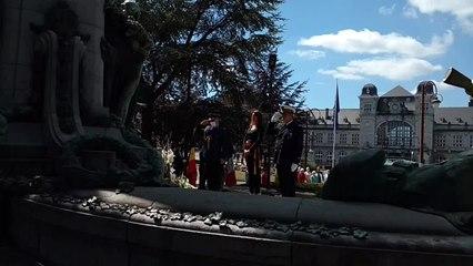 La cérémonie patriotique du 21 juillet, à Verviers