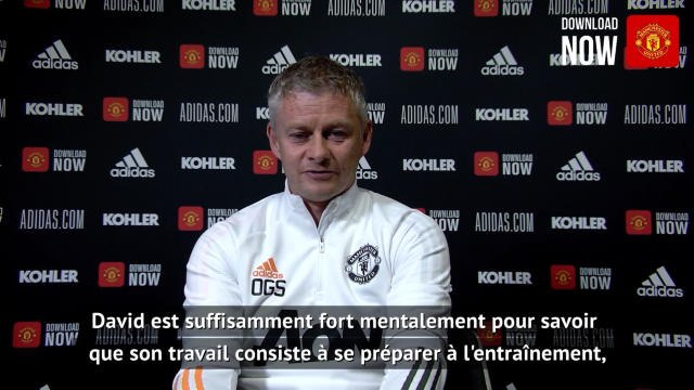 "Man Utd - Solskjaer : ""De Gea est fort mentalement"""