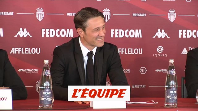 Kovac : « Ramener l'AS Monaco au sommet » - Foot - L1 - Monaco