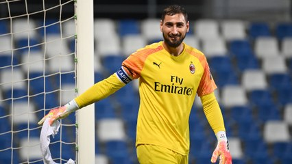Donnarumma Proud Of This Achievement Video Dailymotion