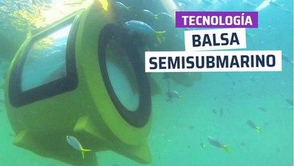 [CH] Balsa eléctrica semisubmarino