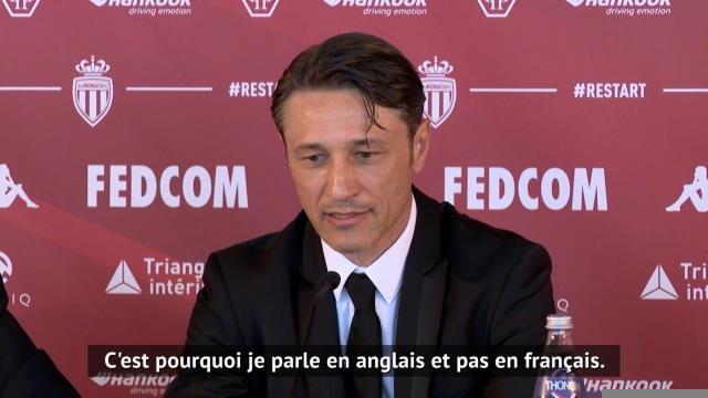 """Monaco - Kova? : """"Ramener l'ASM au sommet de la Ligue 1"""""""