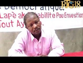 Rosemond Jean reyaji sou kriz politik la epi pwoblèm ki gen nan EDH akoz nominasyon nouvo direktè a