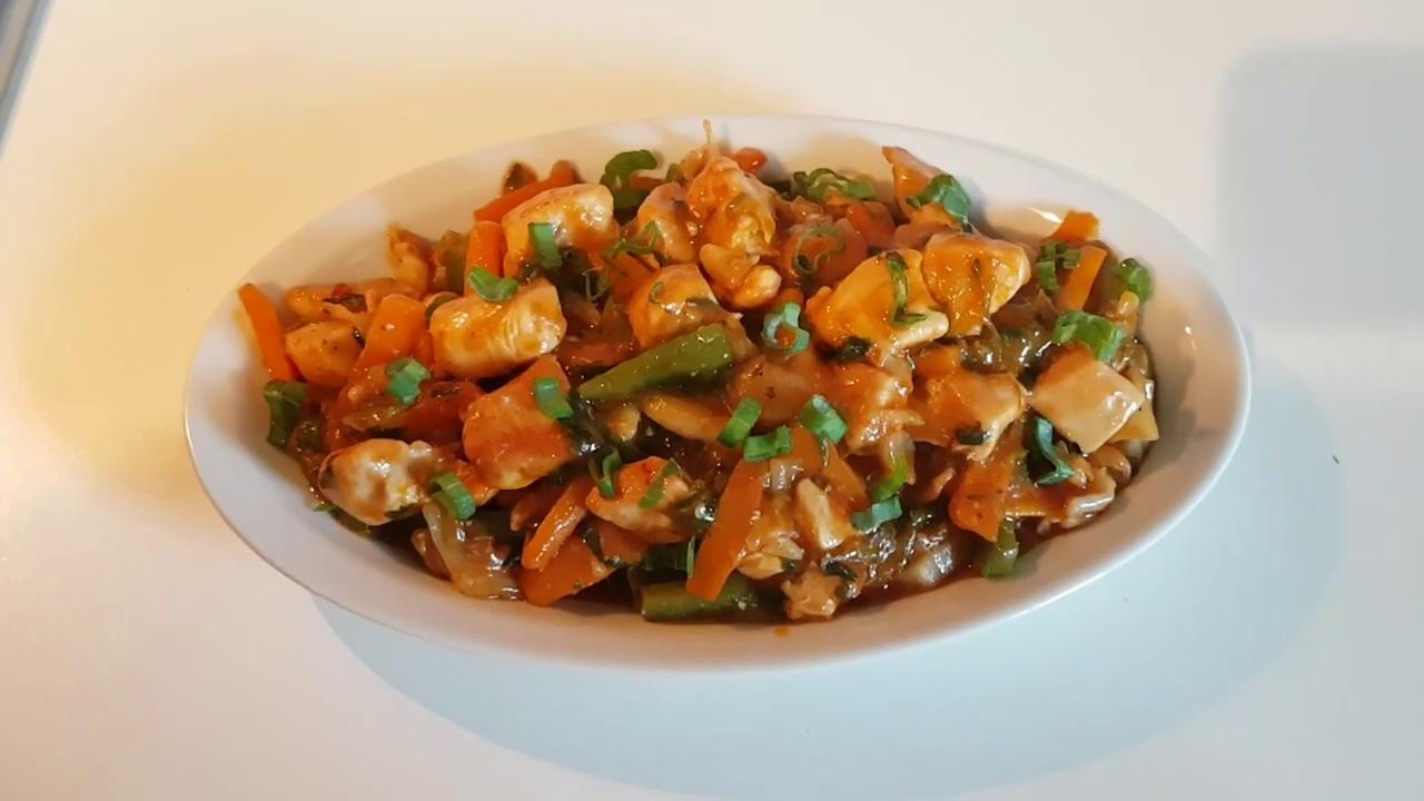 Garlic Chicken With Vegitables | Garlic Chicken | Garlic Chicken Recipe