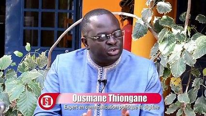 Ousmane Thiongane- _les startups perdent beaucoup d'argent lies à la  commande publique_