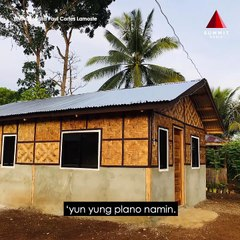 A couple spends P280,000 to build their dream house