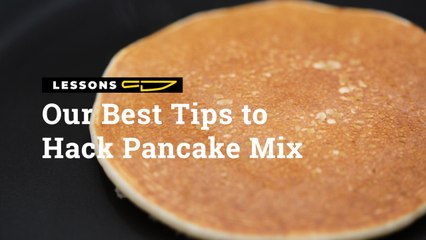 These Are Our Best Tips To Hack Pancake Mix   Yummy PH