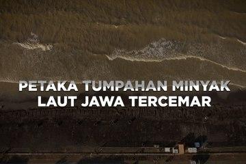 Tragedi Tumpahan Minyak, Laut Jawa Tercemar - Katadata Indonesia