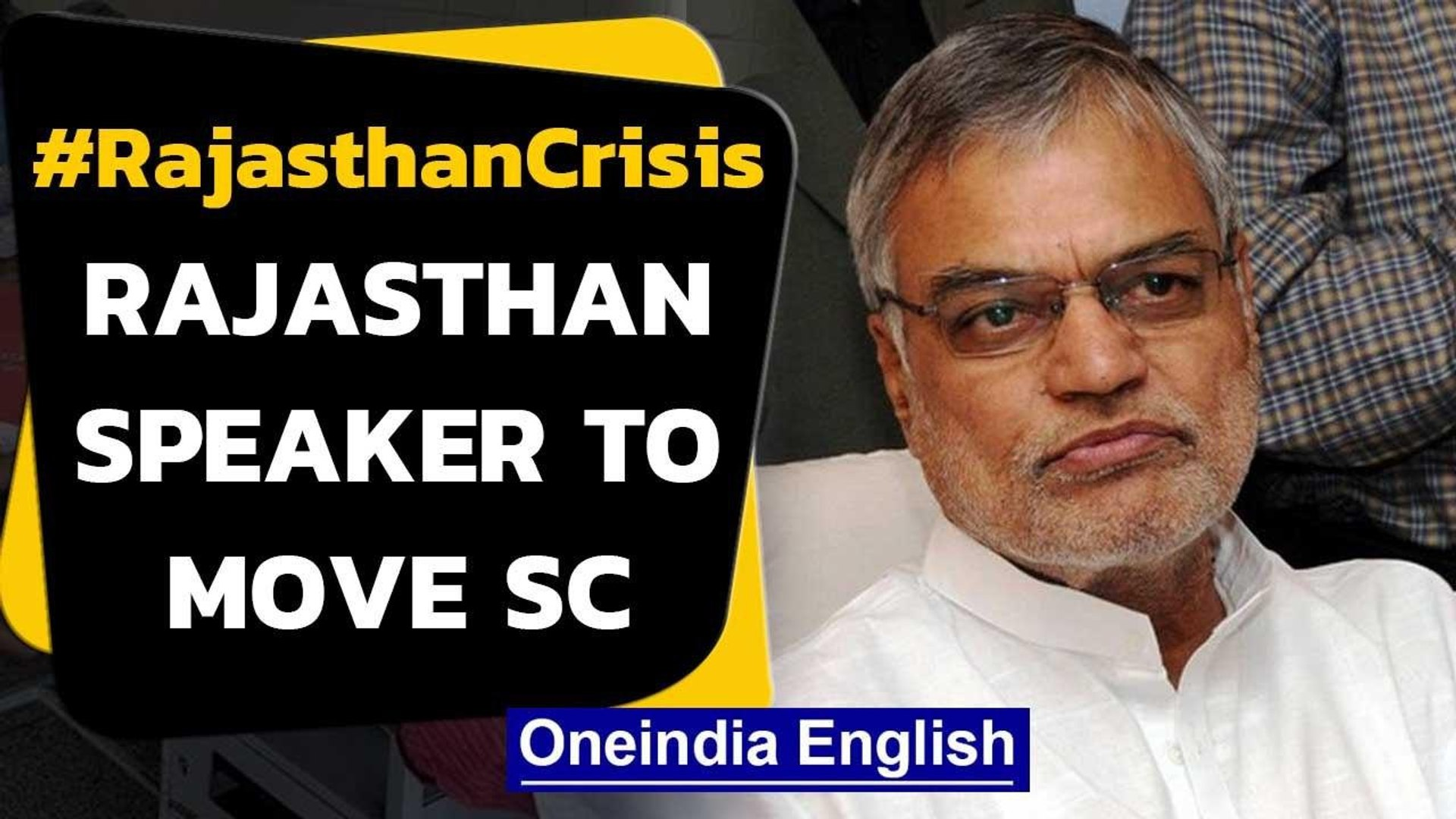 Rajasthan political crisis: Speaker to move SC against HC order giving breather to pilot camp