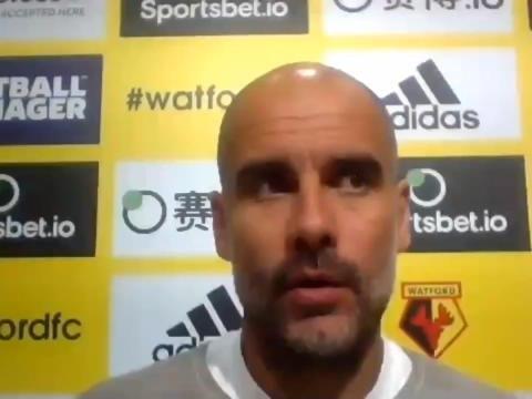 """37e j. - Guardiola : """"Cette saison n'a pas été bonne"""""""