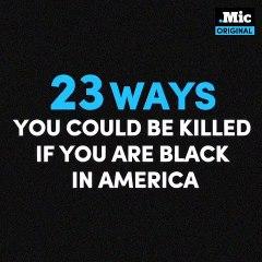 """[SOCIÉTÉ]23 FAÇONS DE SE FAIRE TUER LORSQU'ON EST NOIR AUX ETATS-UNISPlusieurs célébrités afro-américaines se mobilisent dans une vidéo poignante pour aborder la situation des noirs aux Etats-Unis en mettant en avant """"les différentes manières de se fa"""