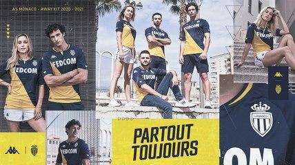 L'AS Monaco et Kappa dévoilent le maillot extérieur 2020-2021