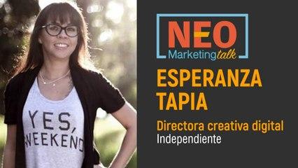 Esperanza Tapia en NEO Marketing Talk