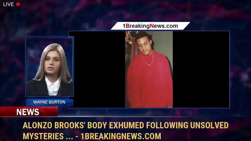 Alonzo Brooks' Body Exhumed Following Unsolved Mysteries ... - 1BreakingNews.com
