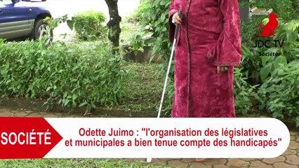 ODETTE JUIMO: C'est la 1ère fois au Cameroun que des élections prennent en compte les handicapé(e)s