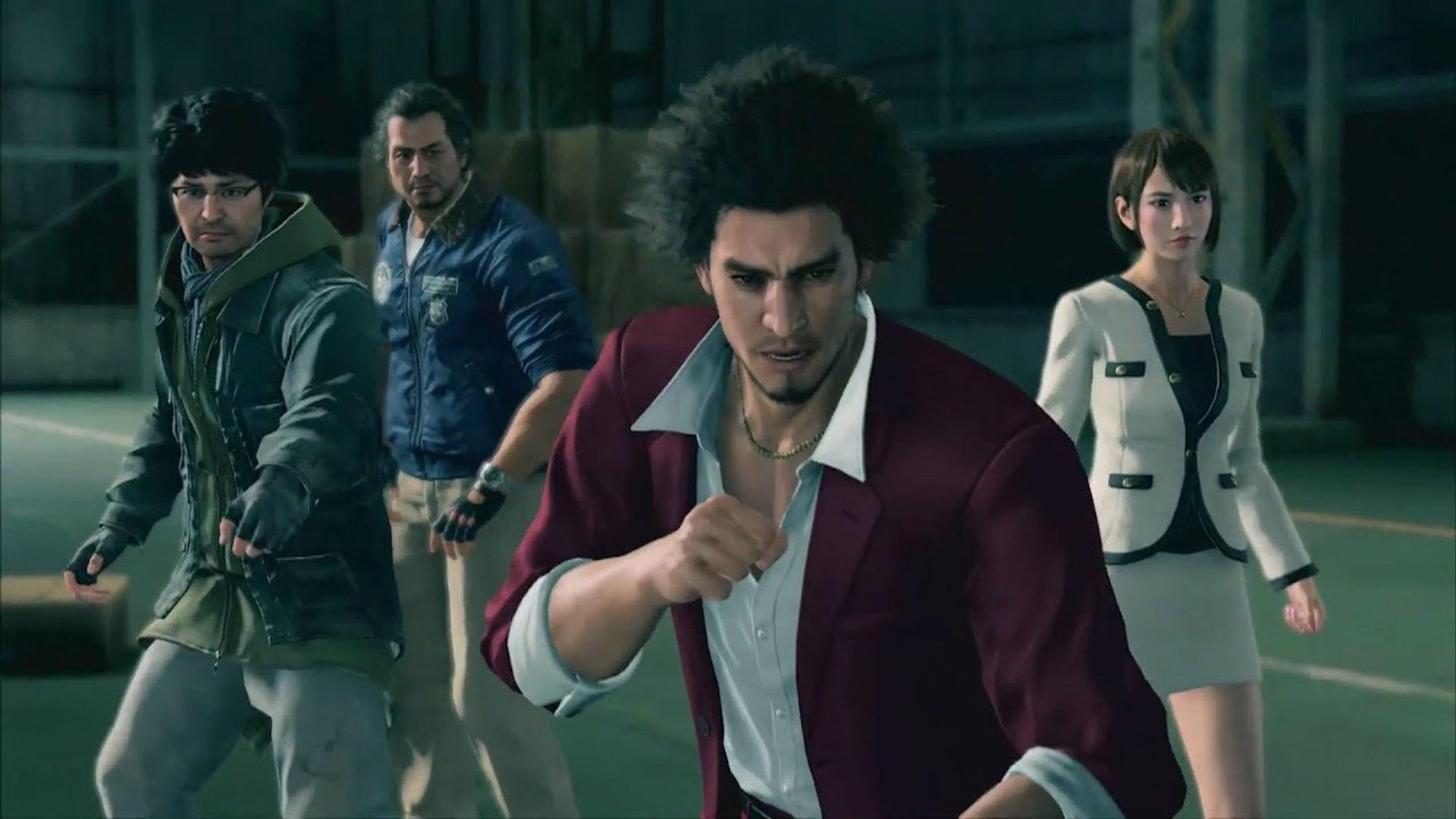 yakuza like a dragon gameplay part 1
