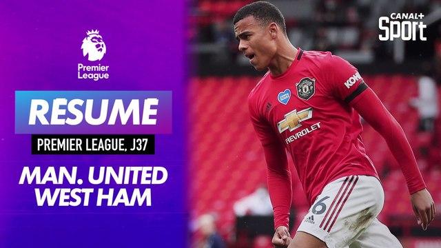 Les buts de Manchester United - West Ham