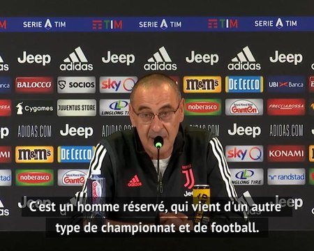 """Juventus - Sarri : """"Rabiot s'est bien adapté"""""""