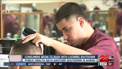 Consumers begin to rush for services with looming shutdown