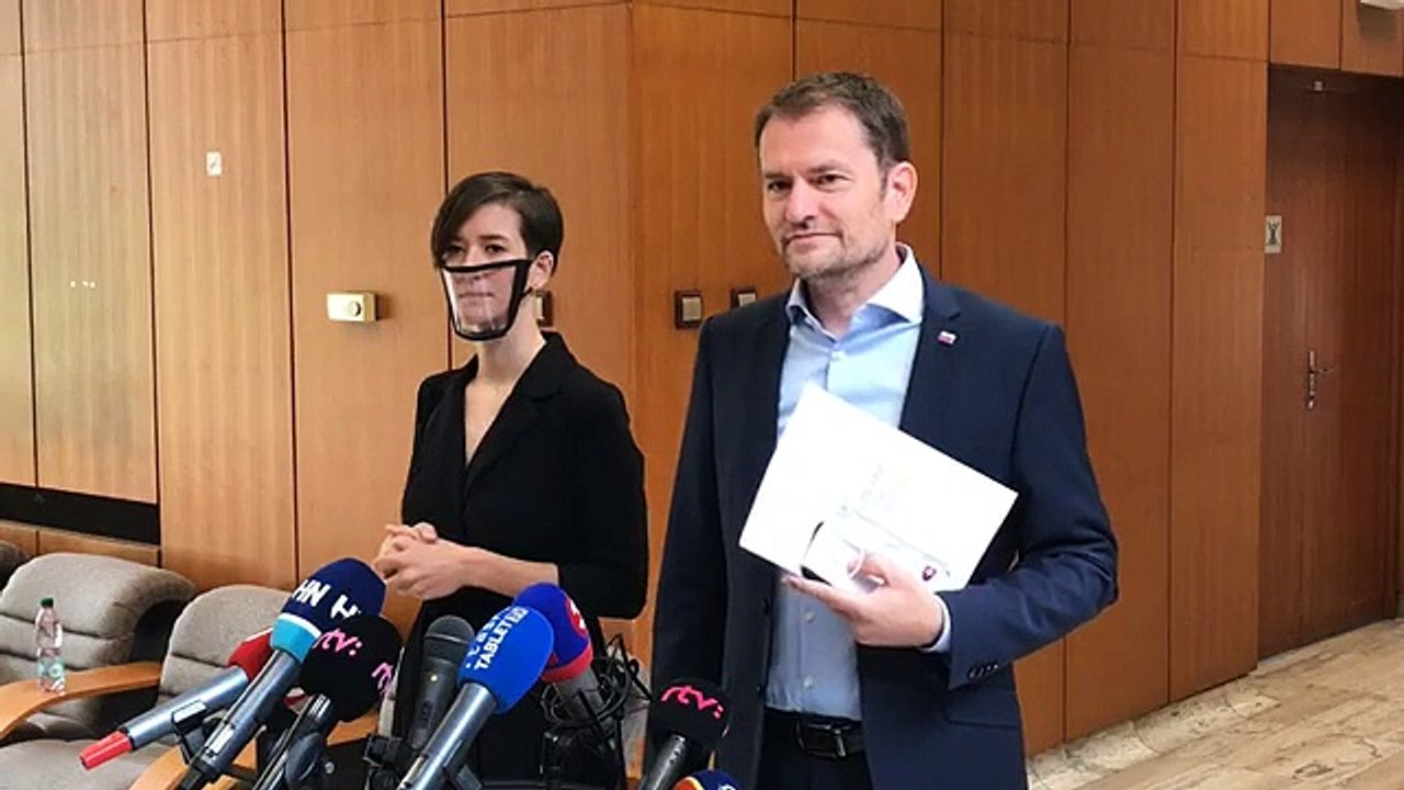 ZÁZNAM: Brífing predsedu vlády Igora Matoviča