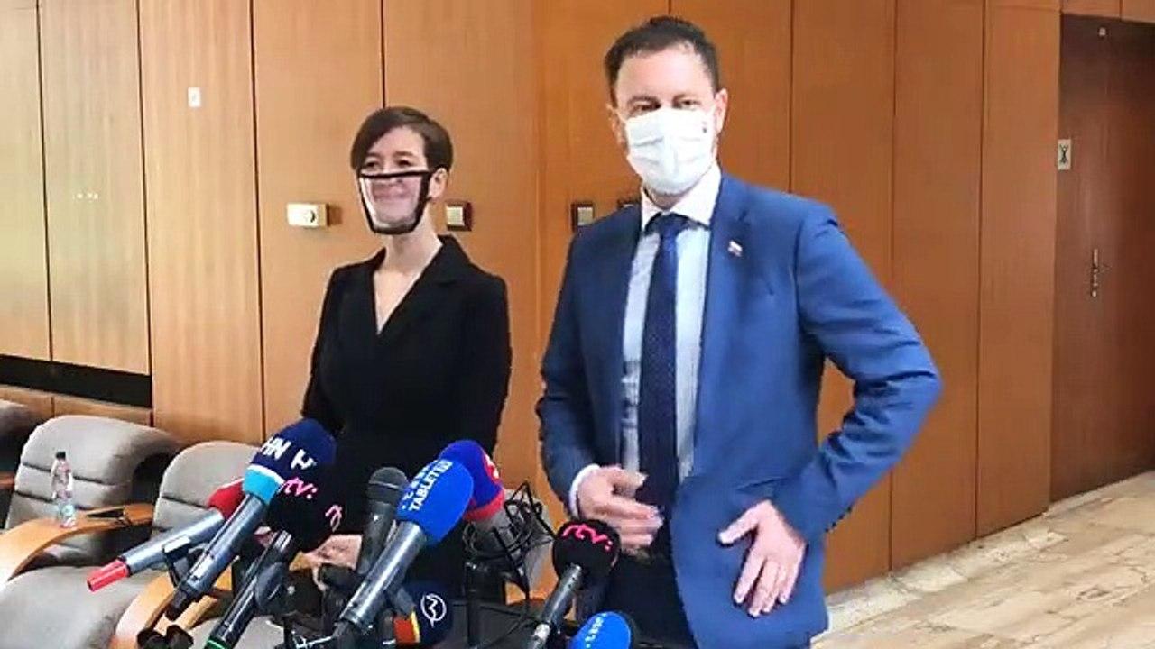 ZÁZNAM: Brífing ministra financií Eduarda Hegera