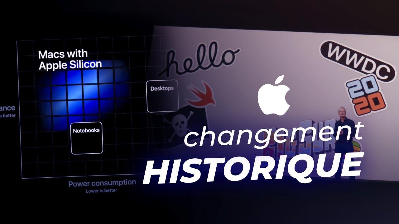 APPLE : changement HISTORIQUE avec ses Mac ARM ! (Apple Silicon)